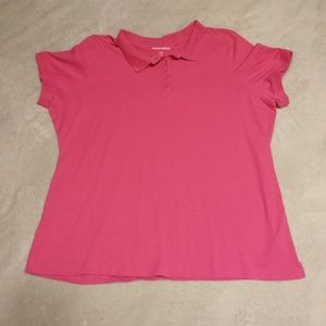 Pink Woman Within Polo